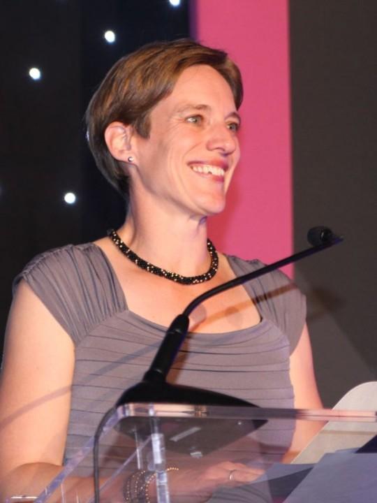 Claire Fox Shines Awards Sept 2014